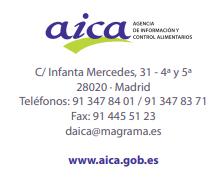 AICA, Agencia de Información y Control Alimentarios